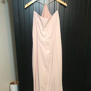 Amsale Bridesmaids Dress in Blush